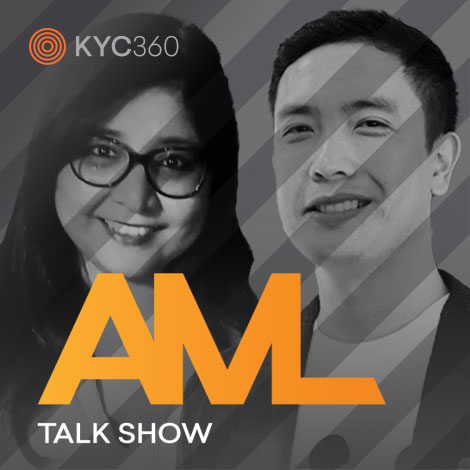 Chinali Patel and Brian Gonzales AML Talk Show